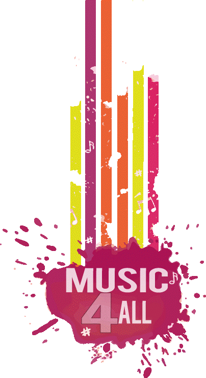 Logo MUSIC4ALL Haren